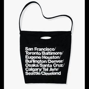 American Apparel Cities Print Tote Bag